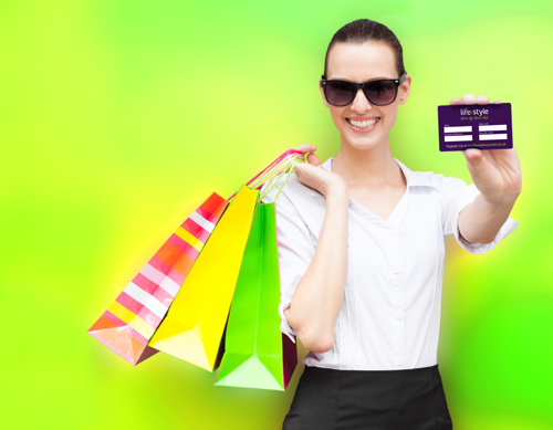 Shopper with Lifestyle Ultimate card